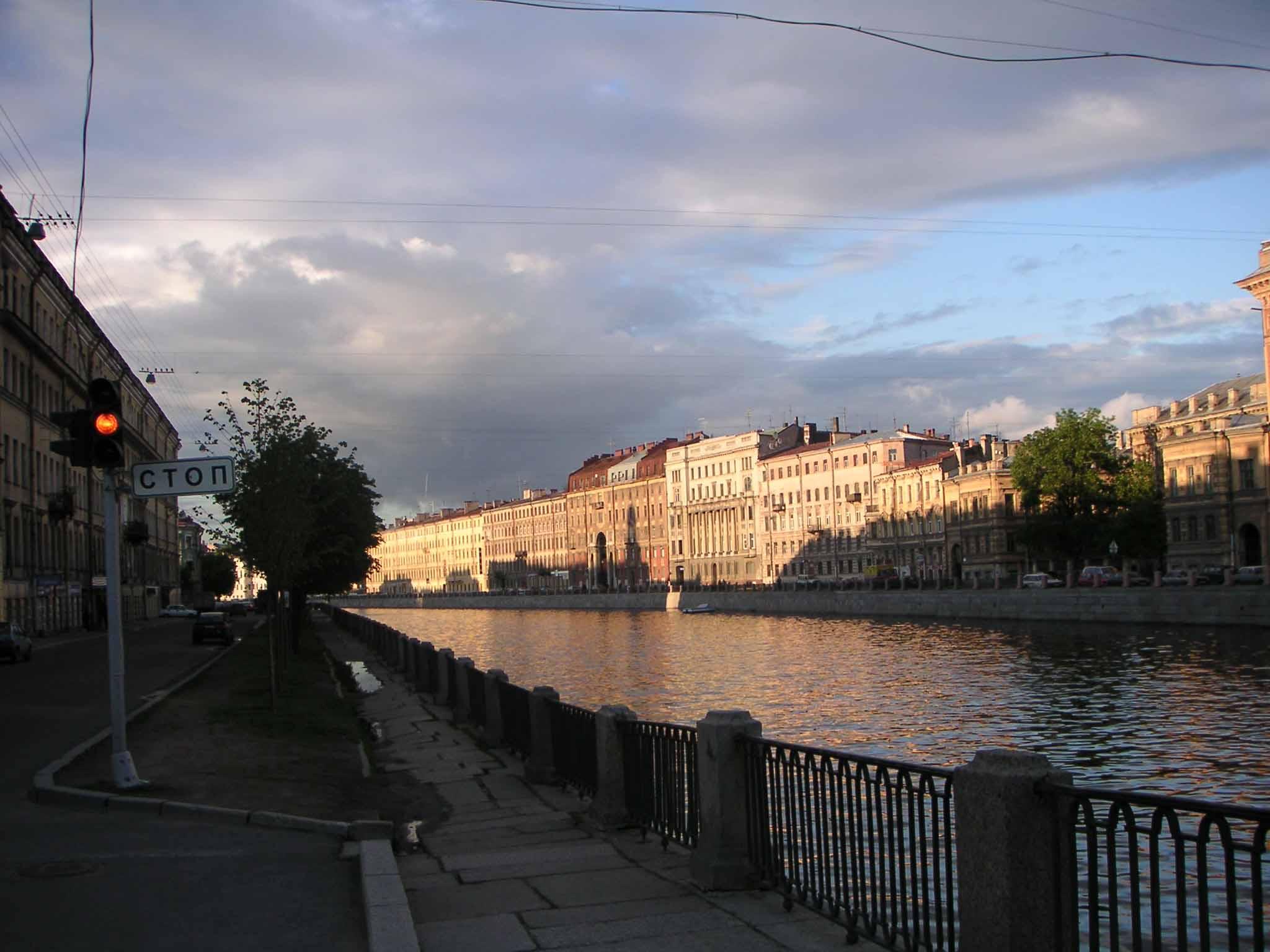 Набережная реки фонтанки фото
